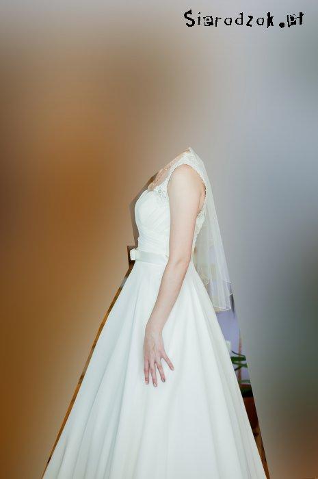 Suknia ślubna Gala Bianka Rozmiar 36 Kolor Ecru Dodatki Gratis