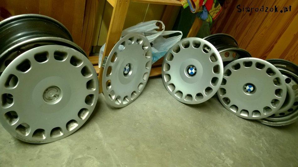 Bmw E39 Oryginalne Zimowe Felgi Aluminiowe 15cali Plus Kołpaki