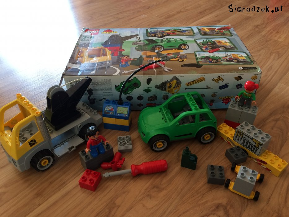 Lego Duplo 5641 Warsztat Samochodowy Holownik Sieradzakpl
