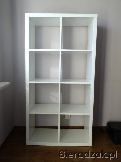 Ikea Kallax Regał Półka Na Książki Biuro Sieradzakpl