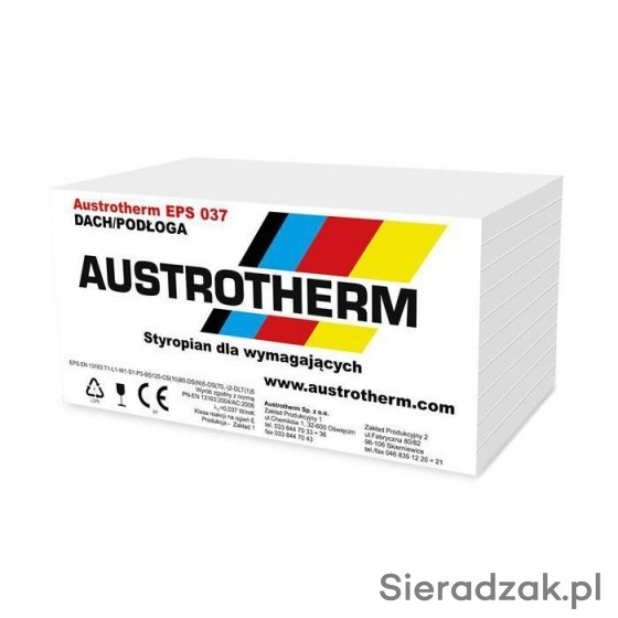 Styropian Austrotherm FASADA EPS 042, 040, 038 - Sieradzak pl